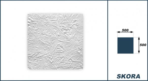 1 qm Deckenplatten Polystyrolplatten Stuck Decke Dekor Platten 50x50cm Skora - Vorschau 3