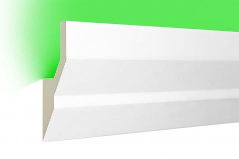 2 Meter LED Profile indirekte Beleuchtung lichtundurchlässig Leiste 100x40 LED-9