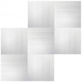 1 qm Deckenplatten Polystyrolplatten Stuck Decke Dekor Platten 50x50cm Nr.04 - Vorschau 3