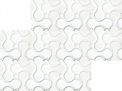 1 qm 3D Platten Natur Stuck ökologisch Paneele 3D Elite Panels 60x60cm Rattan - Vorschau 3