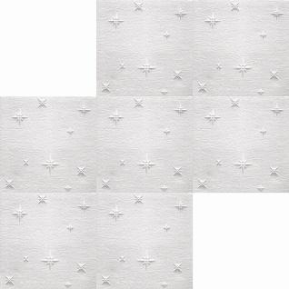 1 qm Deckenplatten Polystyrolplatten Stuck Decke Dekor Platten 50x50cm Zima - Vorschau 2