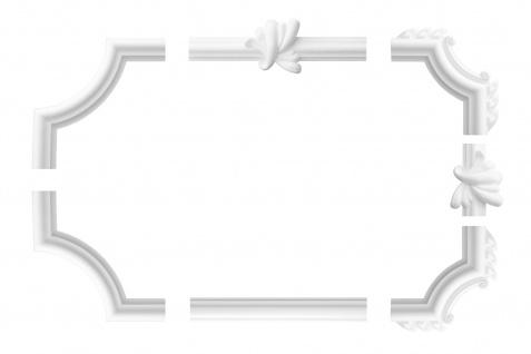 Wandumrandung Deckenumrandung Fries Stuck Dekor Rahmen Styropor Auswahl XPS E-19
