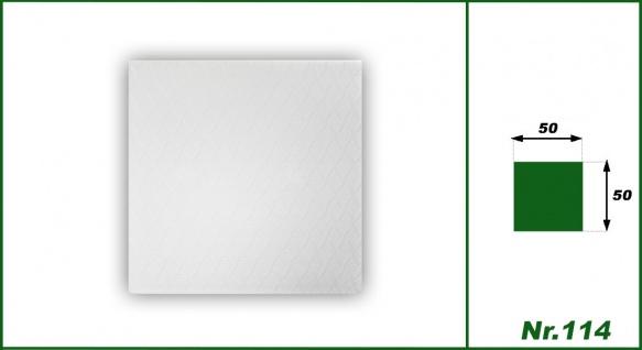 1 qm Deckenplatten Polystyrolplatten Stuck Decke Dekor Platten 50x50cm Nr.114 - Vorschau 2