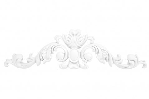 1 Ornament Dekorelement PU Stuckdekor Innen Wanddekor stoßfest 80x300mm, A605