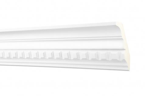 2M Zierprofil 90x50mm - Stuckleiste aus PU gemustert, stoßfest - Perfect AA077