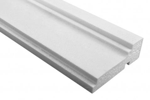 Fassade Außenstuck Gesims mit Ausprägung EPS PU stoßfest 40x120mm Sparpaket MC155