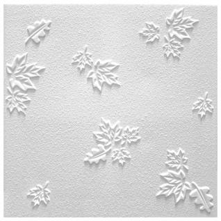 1 qm Deckenplatten Polystyrolplatten Stuck Decke Dekor Platten 50x50cm Jesien