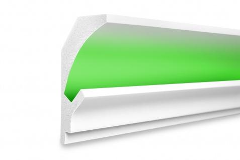 1, 15 Meter LED Profil XPS Stuck Trockenbau Tesori 150x90mm KD202