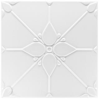 1 qm Deckenplatten Polystyrolplatten Stuck Decke Dekor Platten 50x50cm Nr.34