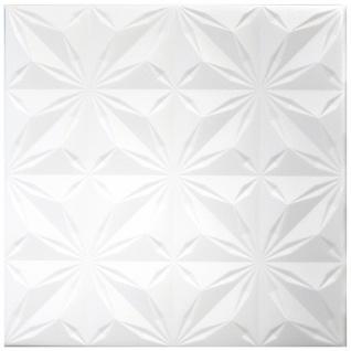 1 qm Deckenplatten Polystyrolplatten Stuck Decke Dekor Platten 50x50cm Nr.116