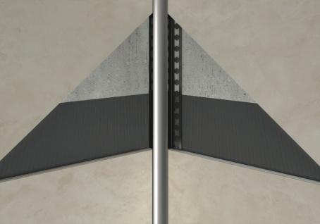 Hohlkehlenprofil rund 10mm | Edelstahlschienen - silber gebürstet | EIR Sparpaket - Vorschau 3