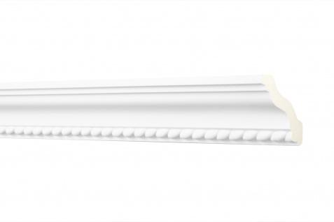 2M Zierprofil 52x52Mm - Stuckleiste aus PU gemustert, stoßfest - Perfect AA047