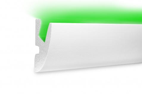 1, 15 Meter LED Profil XPS Stuck Trockenbau Tesori 65x40mm KD303