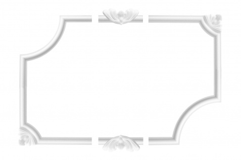 Wand- und Deckenumrandung   Fries   Stuck   EPS   E-27
