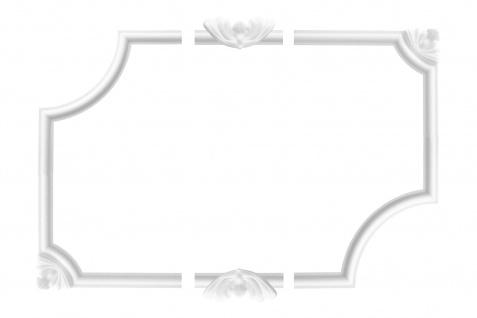 Wandumrandung Deckenumrandung Fries Stuck Dekor Rahmen Styropor Auswahl EPS E-27