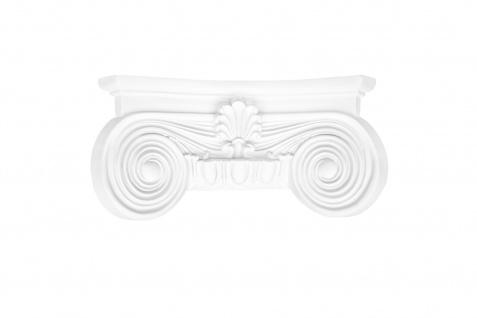 Säulen und Halbsäulen | rund | glatt | Stuck | Auswahl | 180mm | N3218 - Vorschau 3