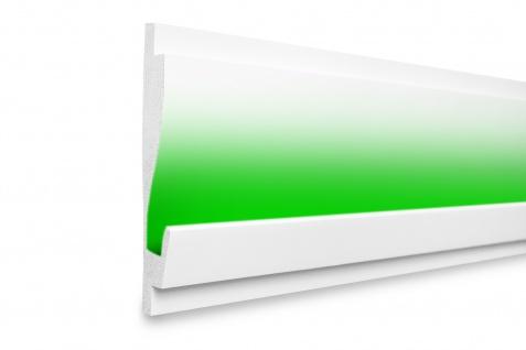 1, 15 Meter LED Profil XPS Stuck Trockenbau Tesori 180x35mm KD405