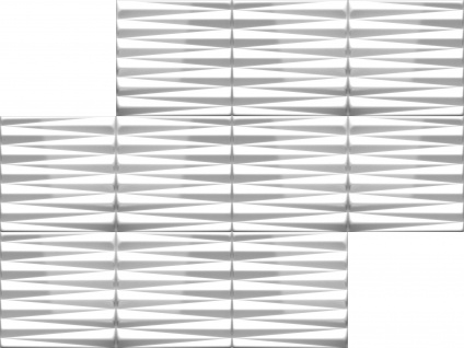 3D Wandpaneele Styroporplatten Wandverkleidung Wanddekor Paneele Pyramid 1 qm - Vorschau 3