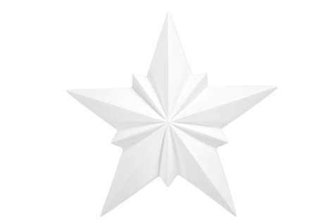 1 Ornament Dekorelement PU Stuckdekor Innen Wanddekor stoßfest 210x210mm, A615