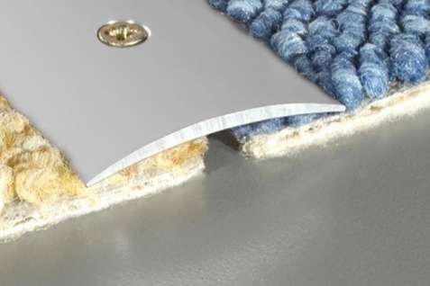 1, 8 Meter Übergangsprofile Alu Bodenleiste eloxiert rostfrei 40x5mm A13
