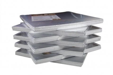 Isolierplatten mit Alufolie   Wand Isolierung   50x50cm   THERMO-STOP 4