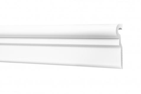 2 Meter Flachleisten HXPS Eckleisten Ecopolimer stoßfest Cosca 78x24mm CM27