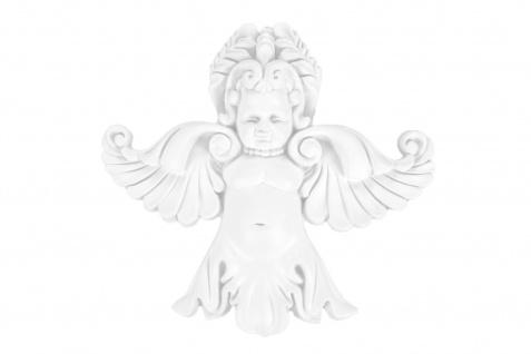 1 Ornament Dekorelement PU Stuckdekor Innen Wanddekor stoßfest 180x165mm, A631
