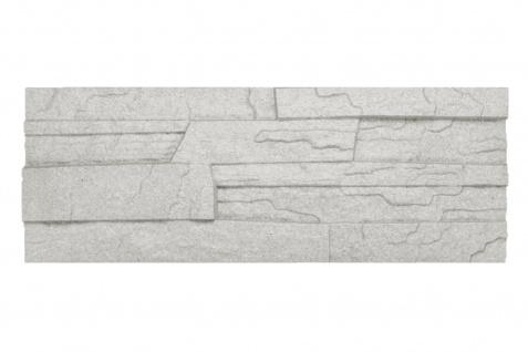 Dekorsteine   Steinoptik   Styroporplatten   Verblender   48x18cm   Stone grau