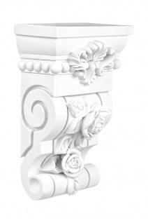 Konsole Wanddeko Stuck Wand Verzierung Antik Barock Dekor stabil 168x94mm C8037