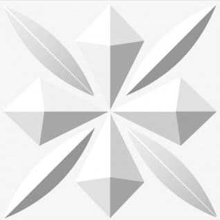 3D Platten | Natur | Stuck | Paneele | 50x50cm | Sherlock