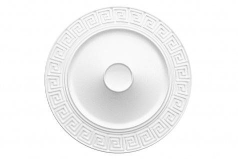 1 Rosette | Decke Stuck Innendekor EPS Dekor Marbet Durchmesser 43cm R-31