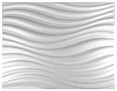 1 qm 3D Platten Natur Stuck ökologisch Paneele 3D Elite Panels 62x80cm Eleanor