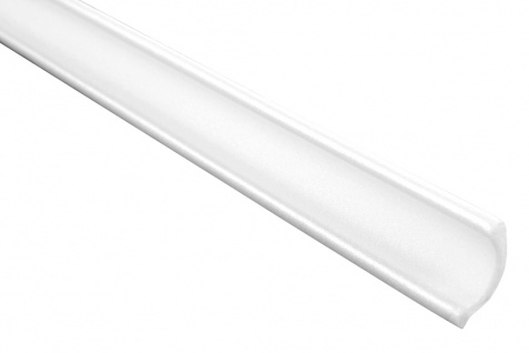 2 Meter | Eckprofil Polystyrolleiste Deckenleiste | Hexim | 30x30mm | M-01