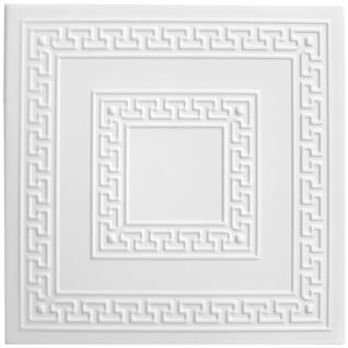 1 qm Deckenplatten Styroporplatten Stuck Decke Dekor Platten 50x50cm Nr.23