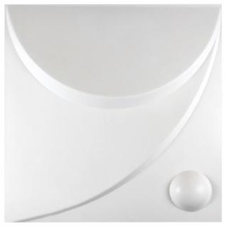 1 qm | 3D Platten | Natur | Stuck | Paneele | 50x50cm | Flora 3D