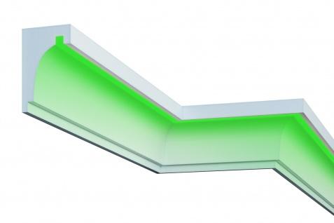 Fassade LED Stuck EPS PU Fassadenleiste wetterfest 120x190mm Sparpaket KC301