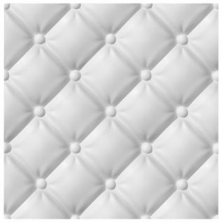 3D Paneele PS Platten Wand Decke Verkleidung Wandverkleidung Sparpaket 60x60cm Hexim Piko