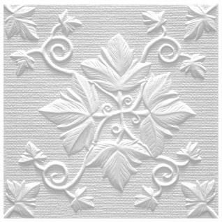 1 qm Deckenplatten Polystyrolplatten Stuck Decke Dekor Platten 50x50cm Grono