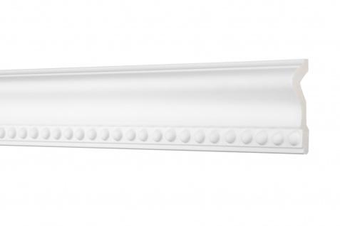 2M Flachprofil 70x26mm - Stuckleiste aus PU gemustert, stoßfest - Perfect AC275