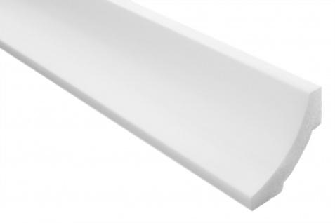2 Meter Stuckleiste XPS Zierprofil Eckleiste stabil weiß Marbet 50x50mm E-12