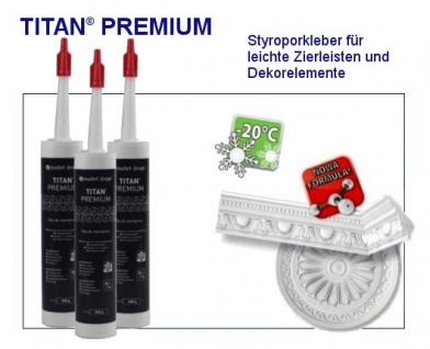 1 Kartusche Montagekleber Acryl Styroporkleber feuchtfest Marbet Titan Premium - Vorschau 2