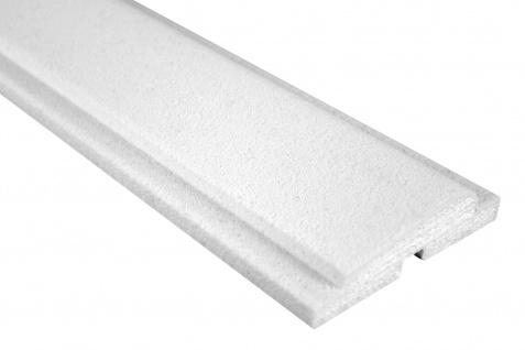 Fassade Außenstuck Gesims mit Ausprägung EPS PU stoßfest 30x110mm Sparpaket MC112