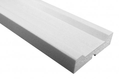 Fassade Außenstuck Gesims mit Ausprägung EPS PU stoßfest 40x150mm Sparpaket MC161