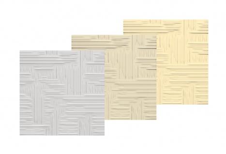 1 qm Deckenplatten Polystyrolplatten Stuck Decke Dekor Platten 50x50cm Norma2