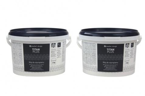 Styroporkleber Acrylkleber mittlere Klebekraft weiß frostfest Titan Plus