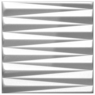 3D Paneele PS Platten Wand Decke Verkleidung Wandplatten Sparpaket 50x50cm Hexim Pyramid
