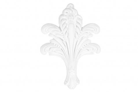 1 Ornament Dekorelement PU Stuckdekor Innen Wanddekor stoßfest 160x230mm, W817