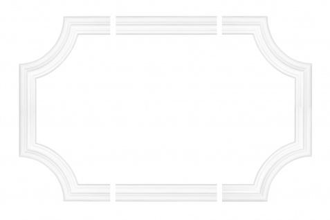 Wand und Deckenumrandung Fries Spiegel Bilderrahmen Stuck Dekor stoßfest AD325