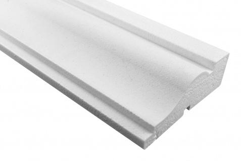 Fassade Außenstuck Gesims mit Ausprägung EPS PU stoßfest 50x160mm Sparpaket MC166
