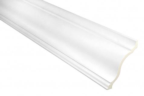 2 Meter PU Eckleiste Profil leiste Dekor stoßfest Hexim 105x106mm | FH9059